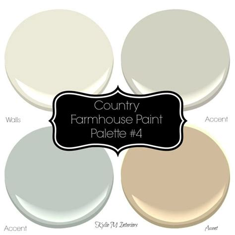 sherwin williams 4 neutral farmhouse country paint palettes paint palettes sherwin williams