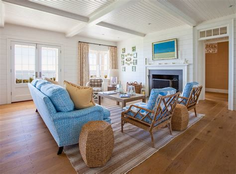 Nantucket Living Room by Nantucket Front Cottage Home Bunch Interior Design