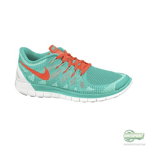 nike womens turquoise running shoes nike free running shoe 5 0 turquoise orange www