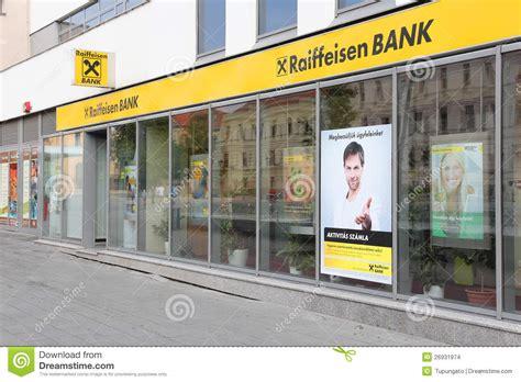 bank raiffeisen raiffeisen bank editorial stock image image 26931974