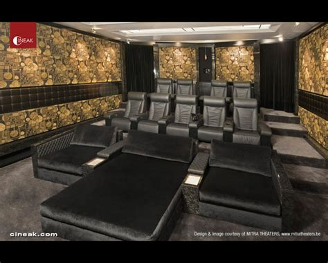movie room recliners cineak fortuny cosymo home theater modern home