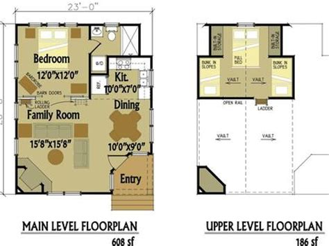 16x24 cabin plans with loft 16x20 cabin, small house plans