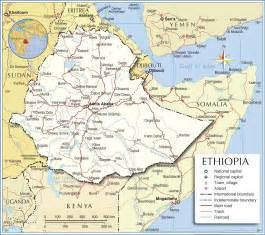 Ethiopia Map In World by Ethiopia Map Map Of Ethiopia Ethiopia Map In English