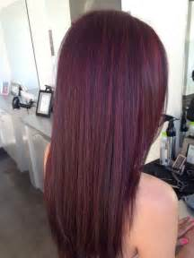 mahogany colored hair mahogany hair color with highlights brown hairs
