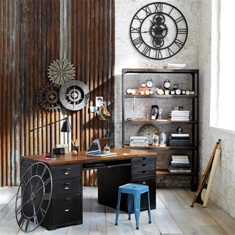 industrial interiors home decor 21 industrial home office designs with stylish decor
