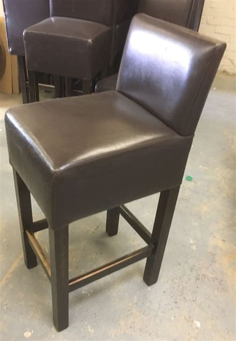 high back bar chairs uk secondhand pub equipment bar stools 20x leather high