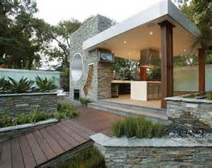 Modern Home Design Outdoor by Modern Outdoor Kitchen Design