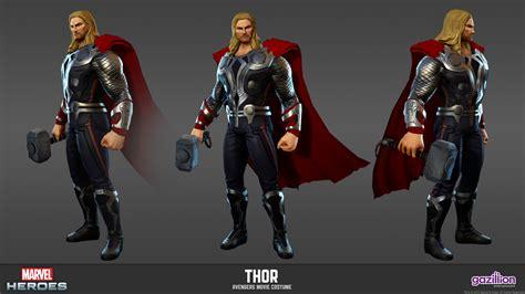 thor film hero name thor marvel heroes complete costume list