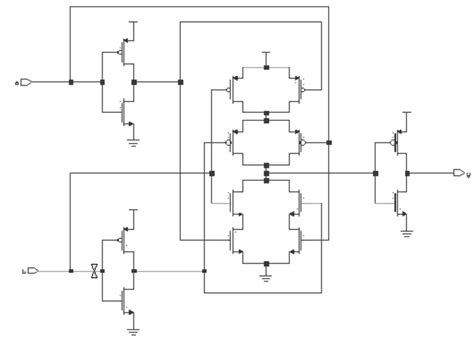 cmos wiring diagram cmos xor gate schematic xor gate vesselyn