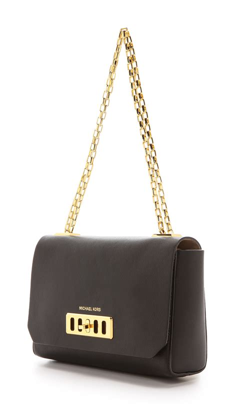 Michael Kors Shoulder Flap Bag by Michael Kors Shoulder Flap Bag Black In Black Lyst