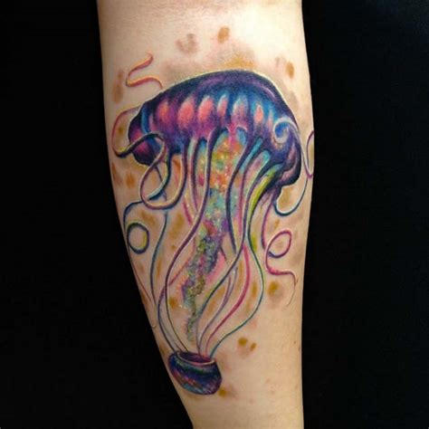 arm tattoo jellyfish 40 magnificent jellyfish tattoos tattooblend