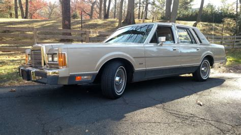 how to learn all about cars 1989 lincoln continental mark vii seat position control 61k moonroof 1989 lincoln town car towncar ltd grand marquis crown victoria for sale in warren