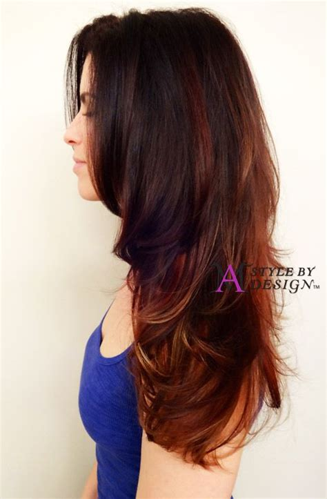 heatless hairstyles for layered hair 36 best red hair images on pinterest red hair auburn