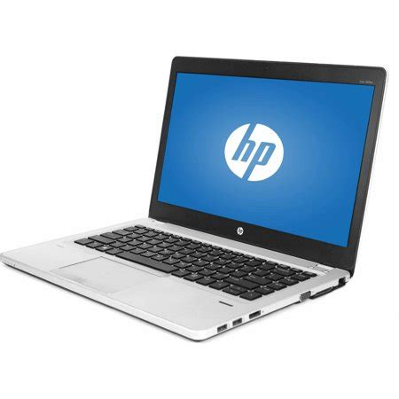 """buy refurbished hp silver 14"""" folio 9470m laptop pc with"""