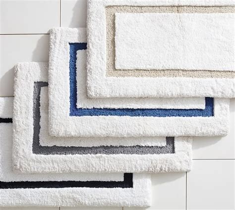 pottery barn bathroom rugs morgan memory foam bath rug pottery barn