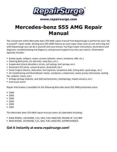 service and repair manuals 2001 mercedes benz cl class windshield wipe control 2001 mercedes benz cl55 amg service repair manuals software at home