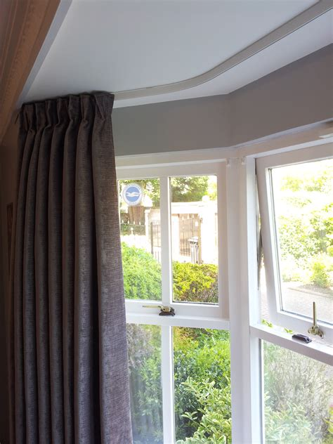 heavy duty curtain rails for bay windows drapery track for bay windows 28 images curtains bay