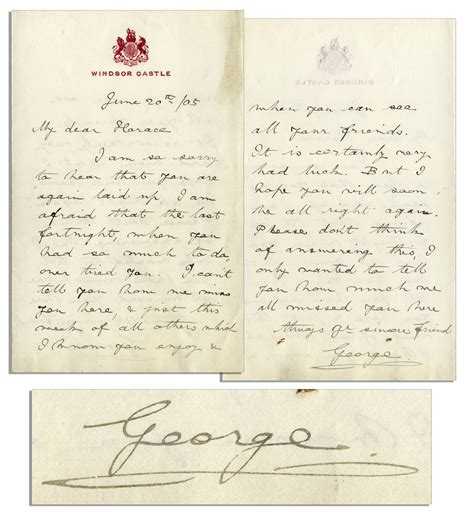 up letter with king george lot detail king george v autograph letter signed
