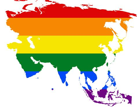 Flag Map file lgbt flag map of asia png wikimedia commons