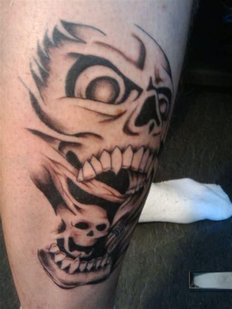 wicked skull tattoo designs 1000 ideas about evil skull on skull