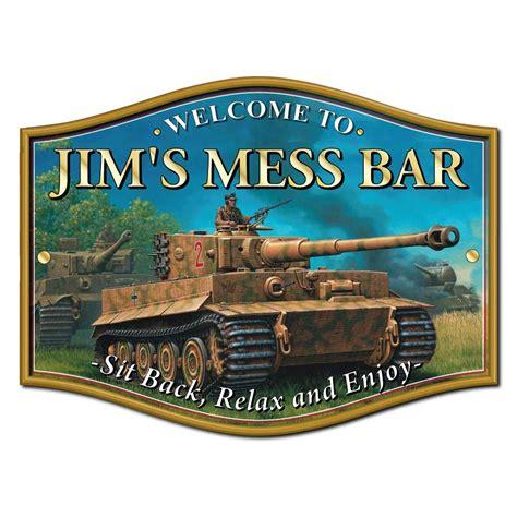 Home Bar Signs Jaf Graphics Tank Home Bar Sign