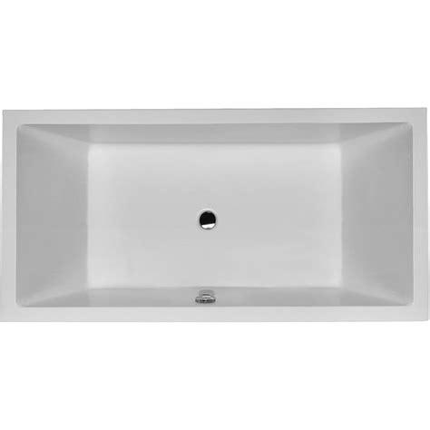 baignoire ilot duravit duravit baignoire starck 2320x1420mm blanc sans dossiers