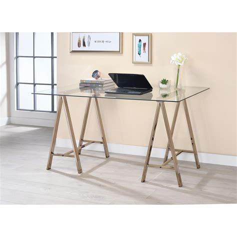 coaster furniture writing desk coaster 800898 contemporary sawhorse writing desk