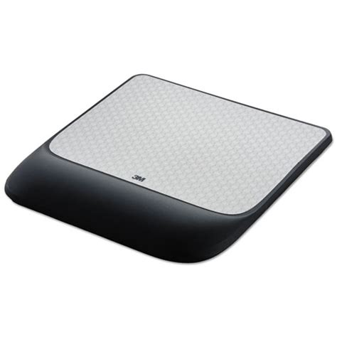 Mouse Pad Surface 3m mw85b mouse pad with precise mousing surface with gel wrist rest