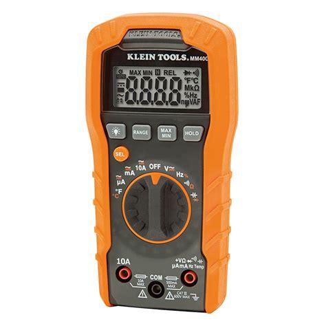 Multimeter Digital Multitester Digital Maxpower klein tools 600v auto ranging digital multimeter
