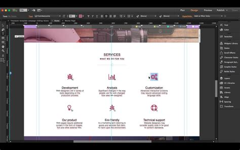 how to create a responsive muse website in 15 minutes
