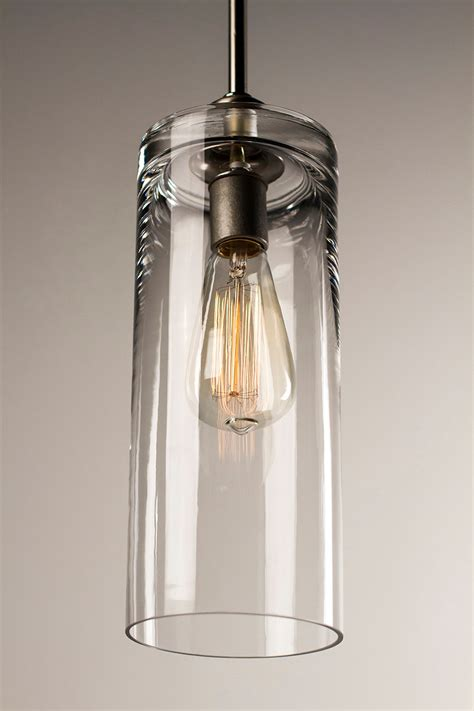 Edison Bulb Pendant Light Pendant Light Fixture Edison Bulb Brushed Nickel Cylinder Dan Cordero
