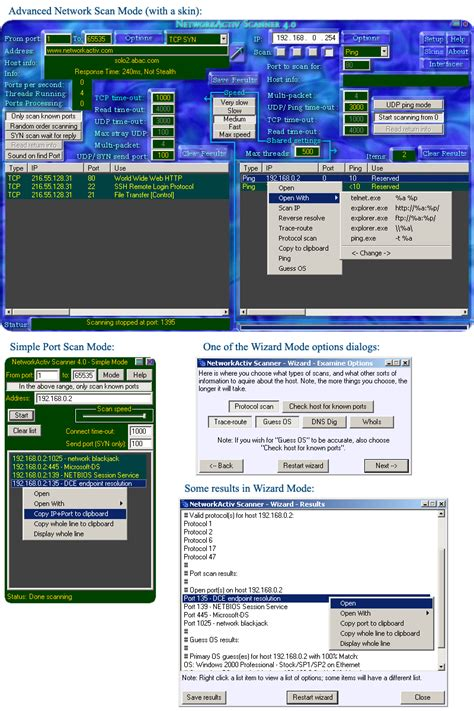 free port scanner networkactiv port scanner