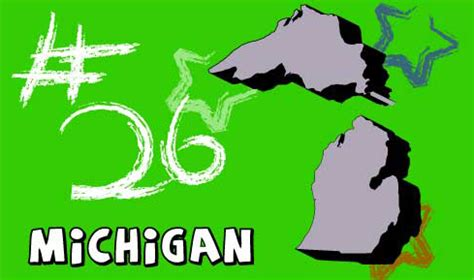 Michigan The 26th State welcome to usa 4 michigan state information