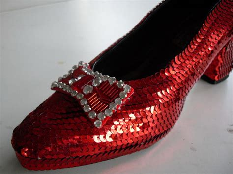 make ruby slippers how to make ruby slippers from the wizard of oz