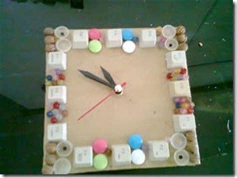membuat jam dari kardus kreasi tangan yang unik dan bisa dijual cara membuat jam