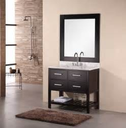 Design Bathroom Vanity by 36 Inch Single Bathroom Vanity Set By Design Element