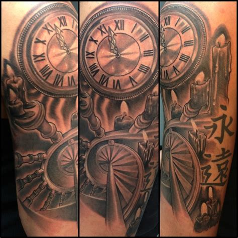 time piece tattoo time tattoos