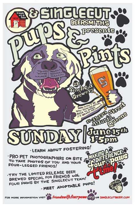 puppies and pints day weekend paws pints and pups pints