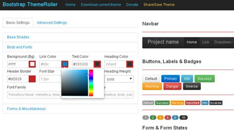 bootstrap themes roller showcase of useful bootstrap tools for web developers