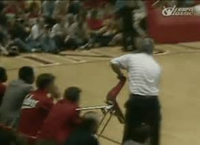 Bobby Knight Throwing Chair Atlanta Teams Are Fukking Failures Sports Hip Hop