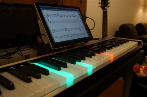 piano with light up illuminating piano works with or windows to