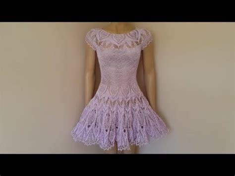 Hq 7859 Lace Dress 1 how to crochet a dress lace crochet dress part 1