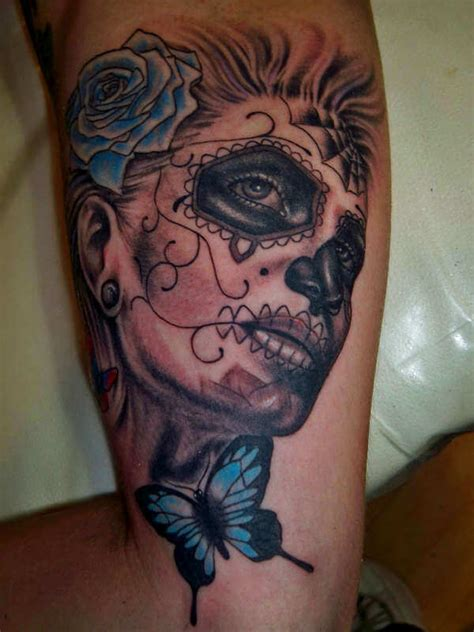 candy girl tattoo designs 40 mexican skull tattoos