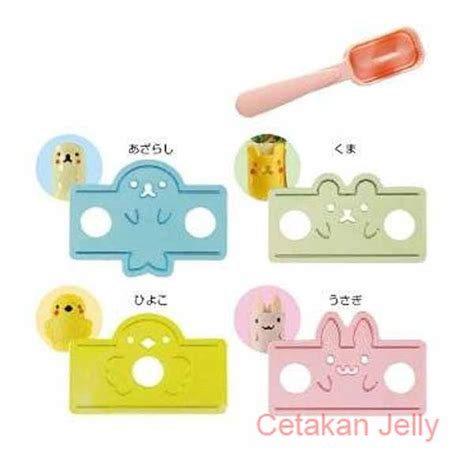 Bento Animal Ham Cheese Cutter Rice Mould Cetakan Nasi Bento Animal Ham Cheese Cutter Rice Mould