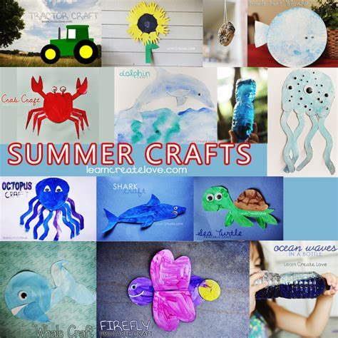summertime crafts for summer crafts compilation