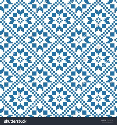 blue nordic pattern blue and white christmas knitted pattern with nordic style