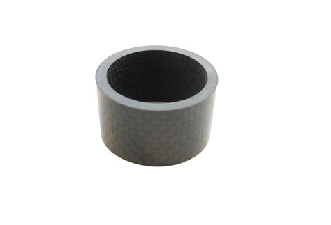 Spacer 20mm Carbon carbon headset spacer 20mm x 1 1 8 quot x 35mm 3k weave gloss