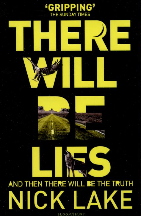 there will be lies book of the week there will be lies by nick lake west exe