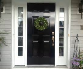Front Door Sidelights White Sidelights For A Black Front Door Mike Davies S Home Interior Furniture Design