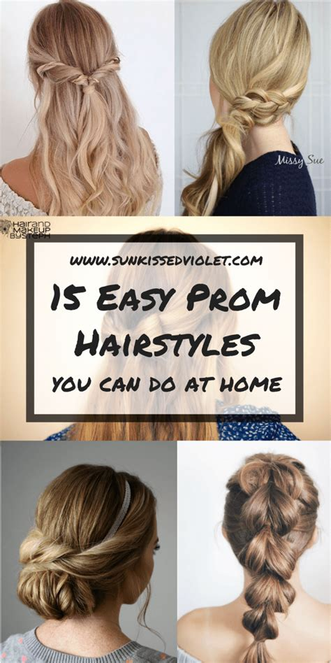 15 easy step by step hairstyles for long hair hair style 15 easy prom hairstyles for long hair you can diy at home